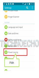 fast charging samsung tidak berfungsi