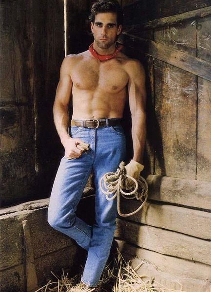 Guys In Vintage Jeans  Denim 0812-8958