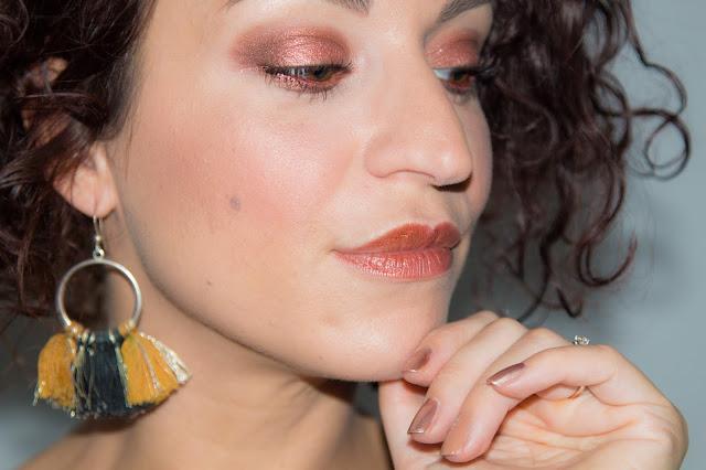 Make-up automnal avec mes produits favoris du moment