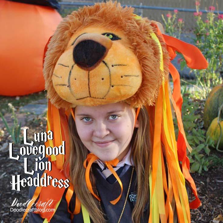 how to make lion king headdress
