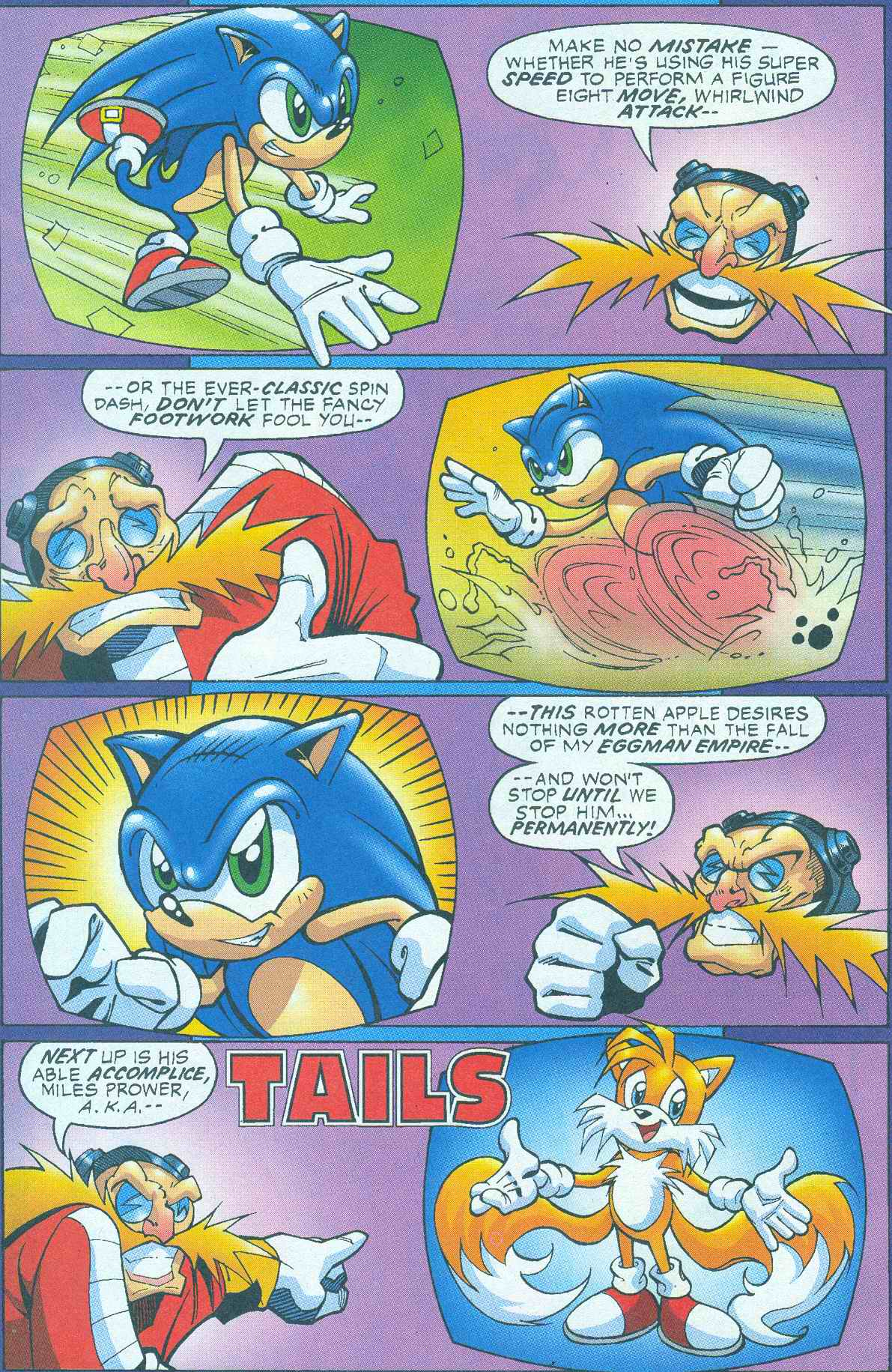 Read online Sonic The Hedgehog comic -  Issue #145 - 13