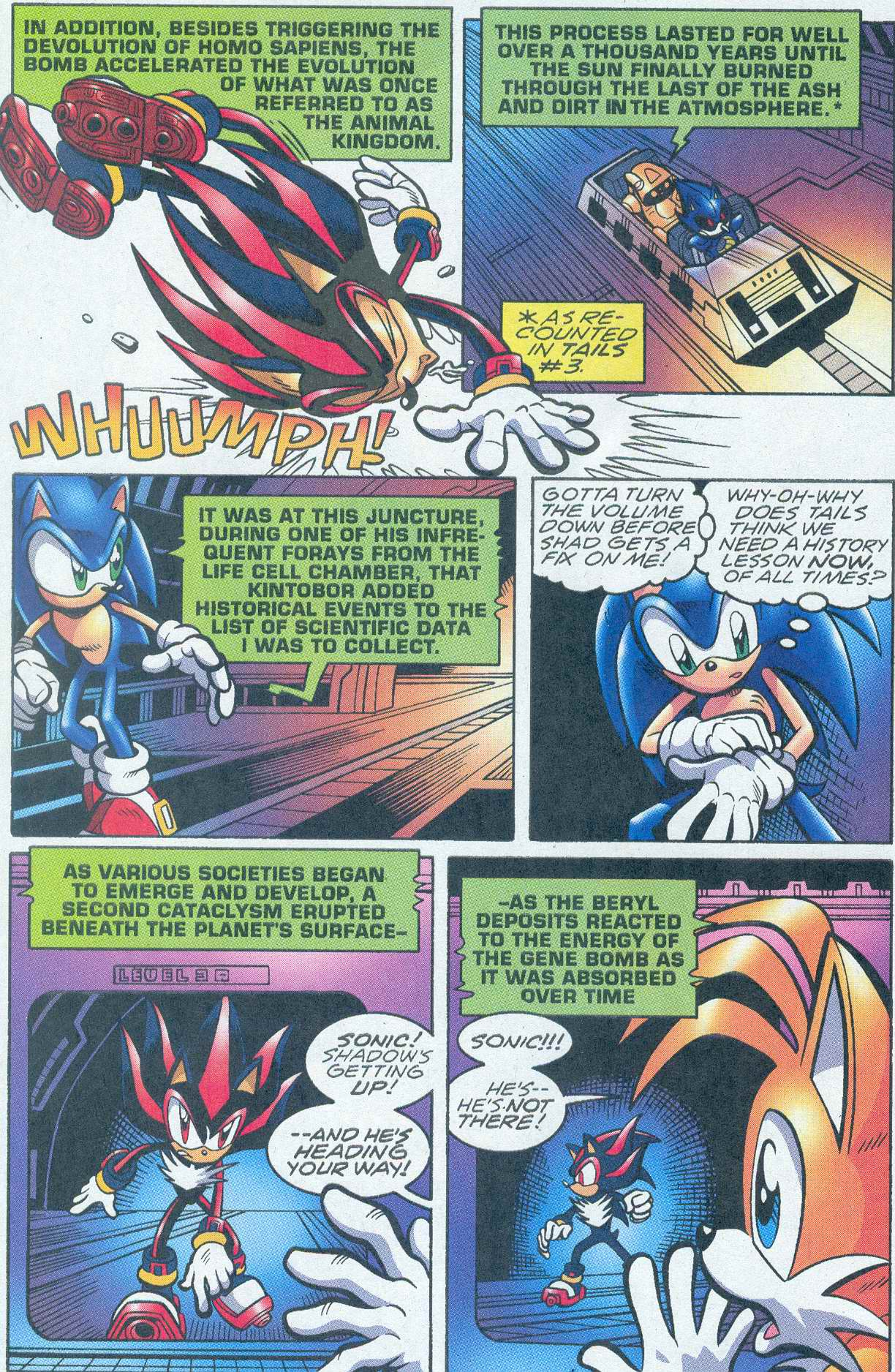 Read online Sonic The Hedgehog comic -  Issue #148 - 10