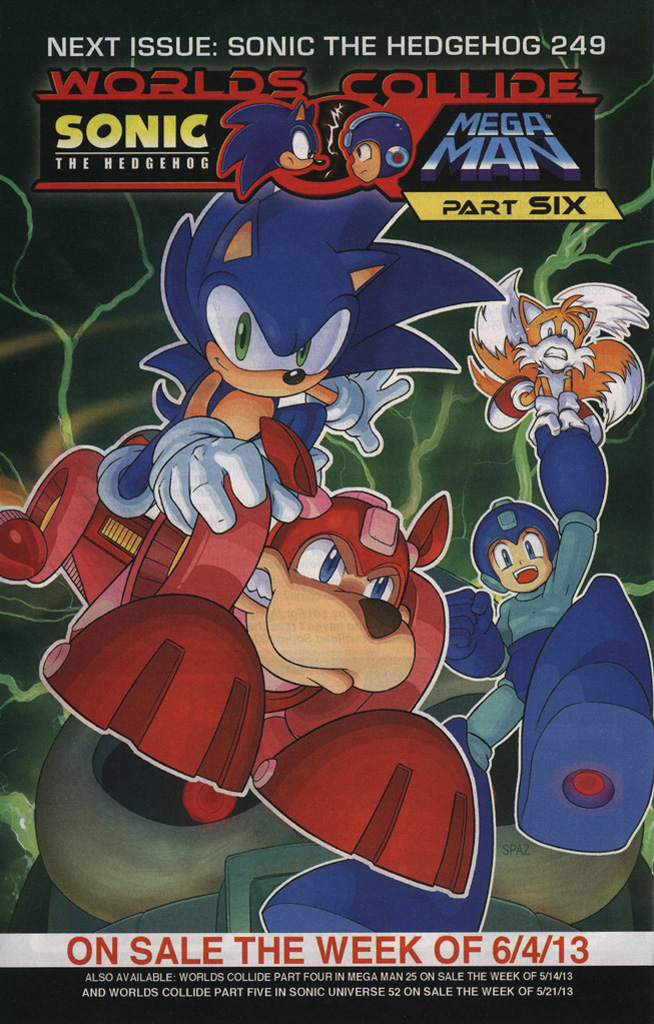 Read online Sonic The Hedgehog comic -  Issue #248 - 34