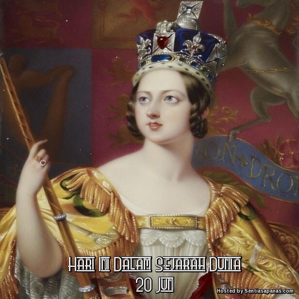 1837 - Ratu Victoria