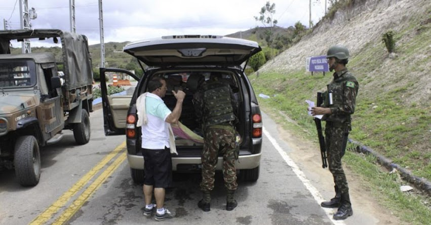 BRASIL suspende entrada de inmigrantes venezolanos por vía terrestre
