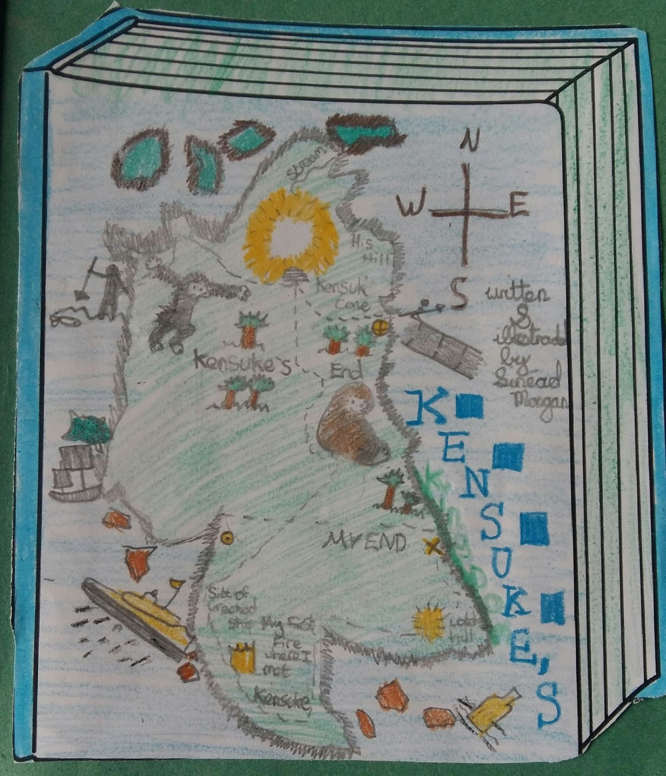 Ms fordes classroom novel ideas and activities it is a nice art activity to do i download a book cover template on card for them and we discuss the elements of an effective book cover gumiabroncs Choice Image