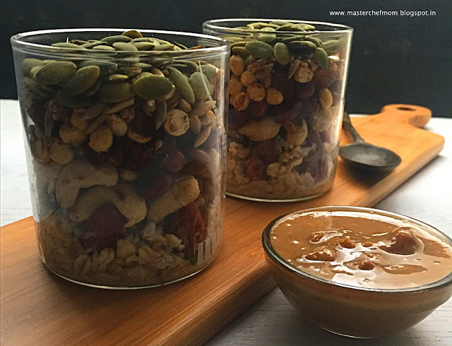 Trail Mix | Salad In A Jar