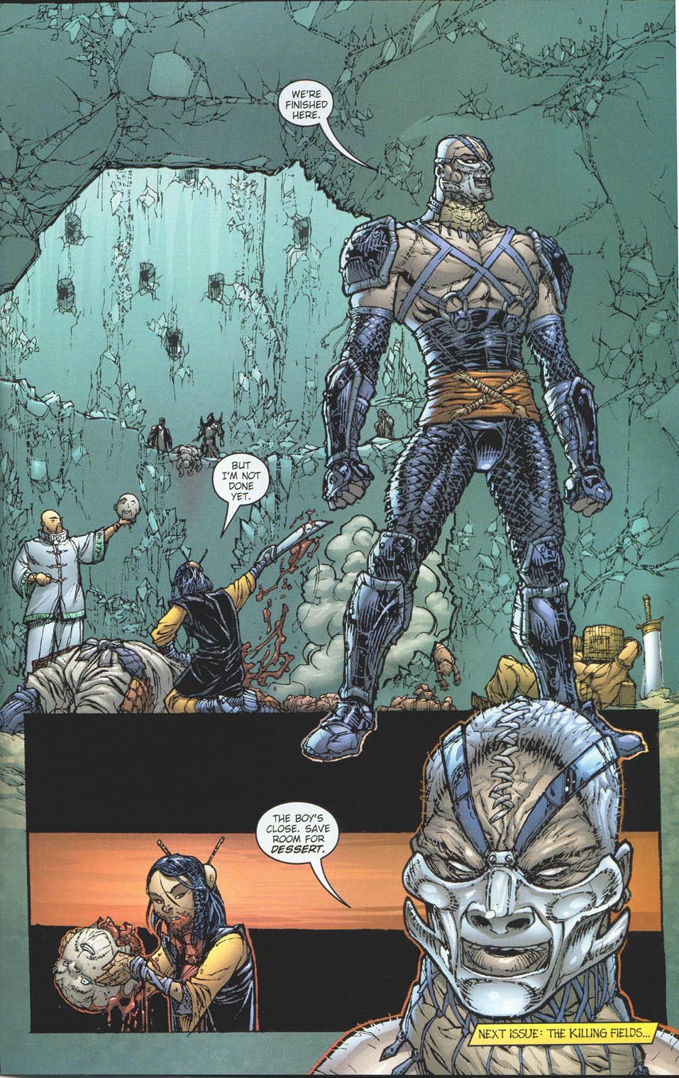 Read online Ninja Boy comic -  Issue #5 - 23