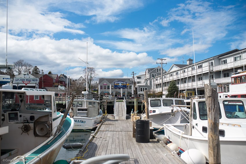 Photos of Boothbay Harbor, Maine by Corey Templeton. April 2016.