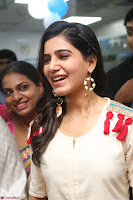 Samantha Ruth Prabhu Smiling Beauty in White Dress Launches VCare Clinic 15 June 2017 030.JPG