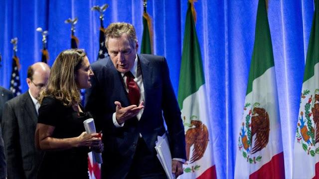 EEUU y Canadá alcanzaron un nuevo tratado trilateral con México