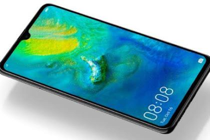Spesifikasi Smartphone Huawei Mate 20 dengan 2D Face Unlock