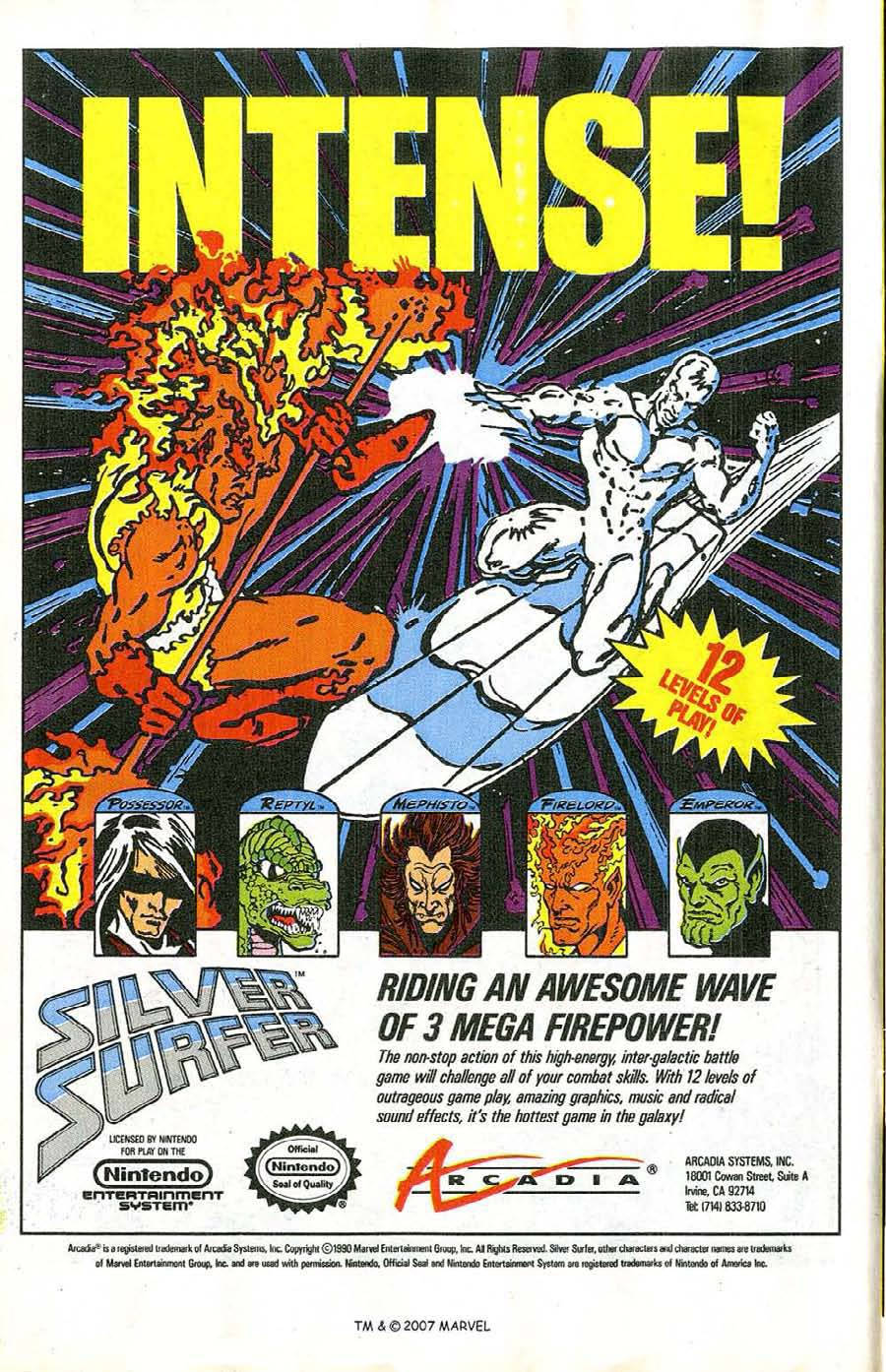 Read online Silver Surfer (1987) comic -  Issue #47 - 12