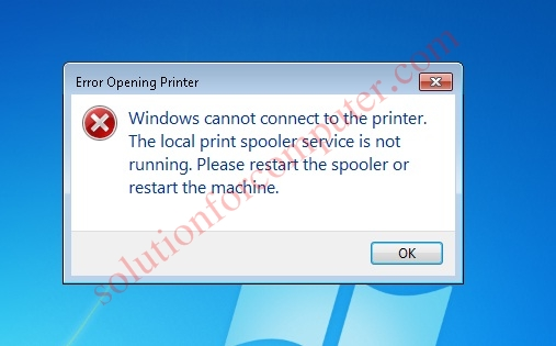 print spooler error in windows 7