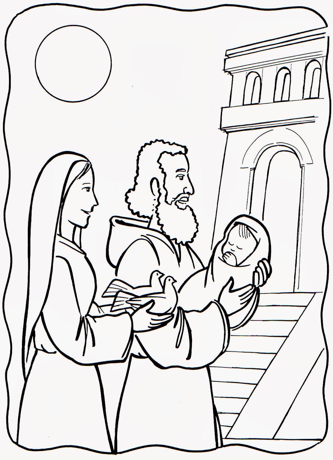 El Renuevo De Jehova: Jesus En El Templo - Imagenes para colorear ...
