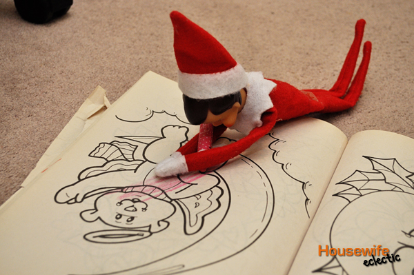 shelf elf coloring page elf on the shelf free printable coloring
