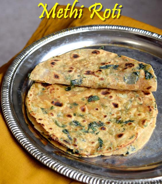 methi chapathi