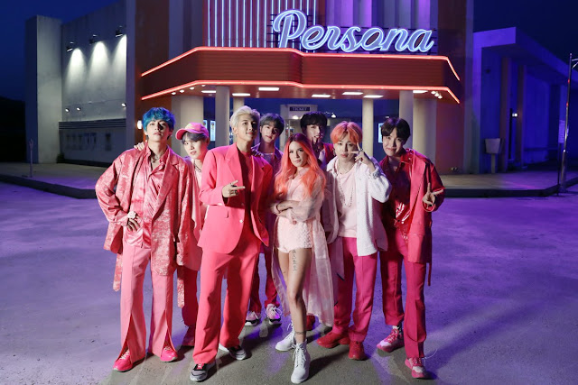 The music video for 'Boy With Luv' has been watched more than 200 million times on Youtube.