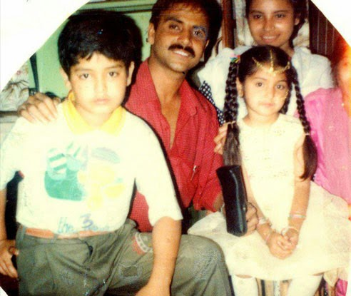Anushka Sharma unseen Cutest Childhood Photos With Family