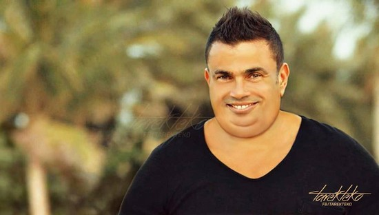 عمرو دياب بعد ما يتخن