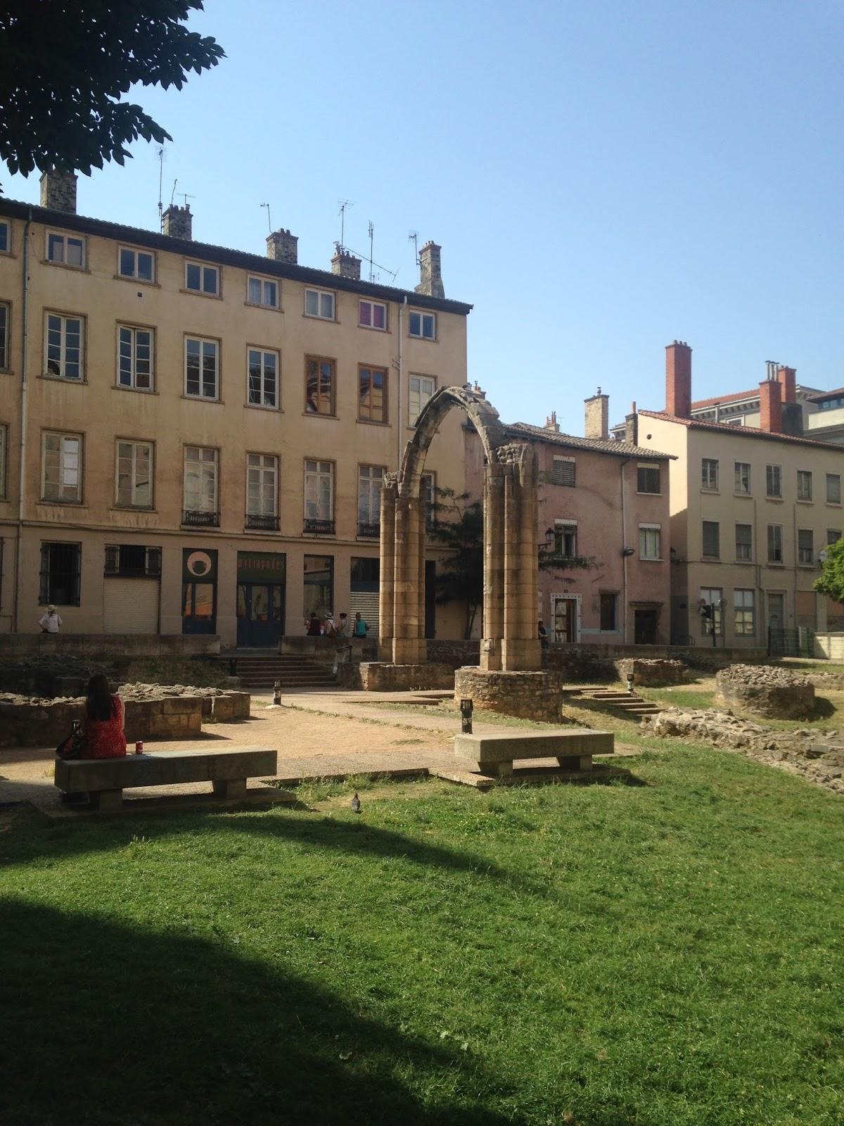Jardin archéologique Lyon