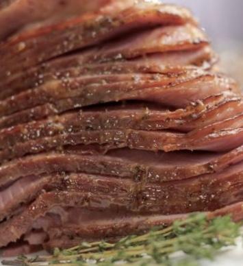 cooking with barry meta jack s honey mustard glazed ham