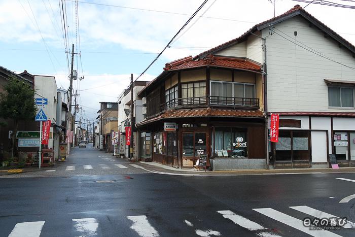croisement de rues à Kurayoshi