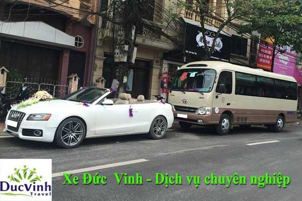 Lưu ý khi thuê xe cưới tại Hà Nội