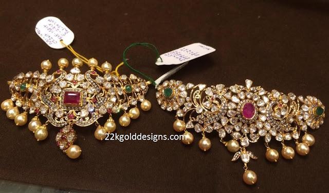 2 in 1 Polki Jewellery