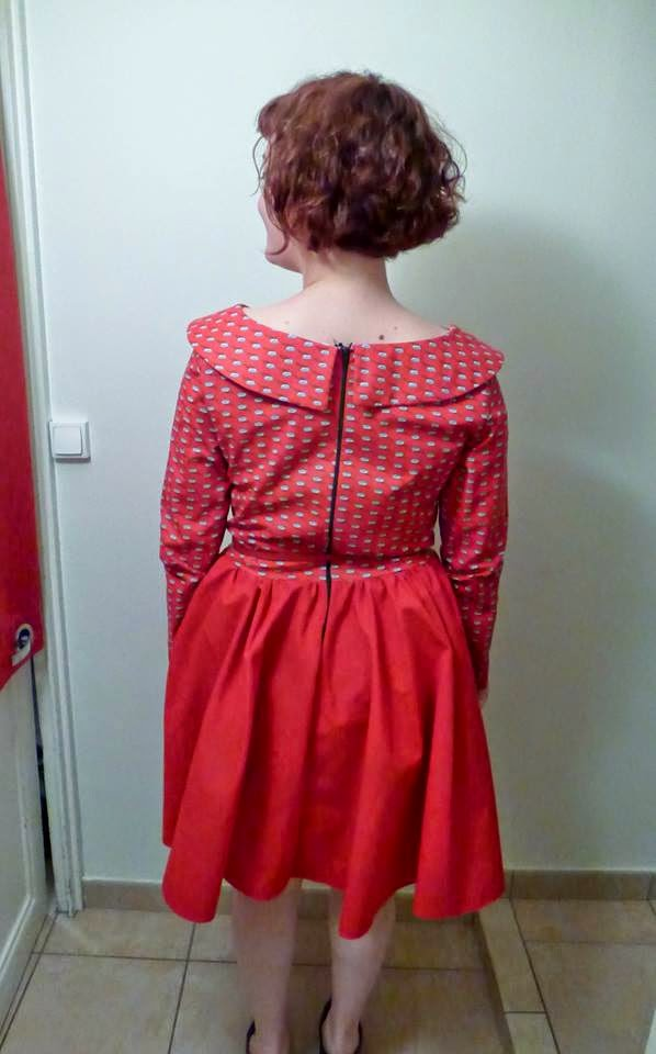 robe corolle rétro