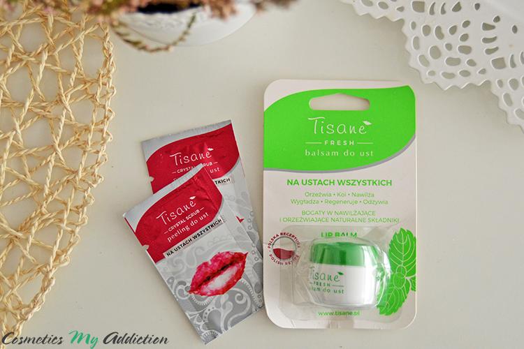 TISANE | Dwie nowości - balsam do ust FRESH i peeling do ust