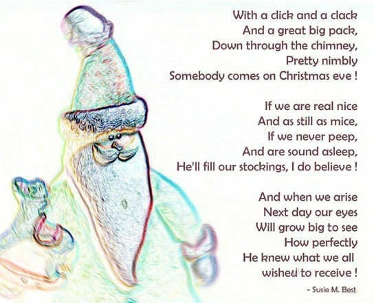 Poems About Christmas.Christmas Poems Make One For Your Family At Home