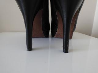 escarpins cuir tamaris