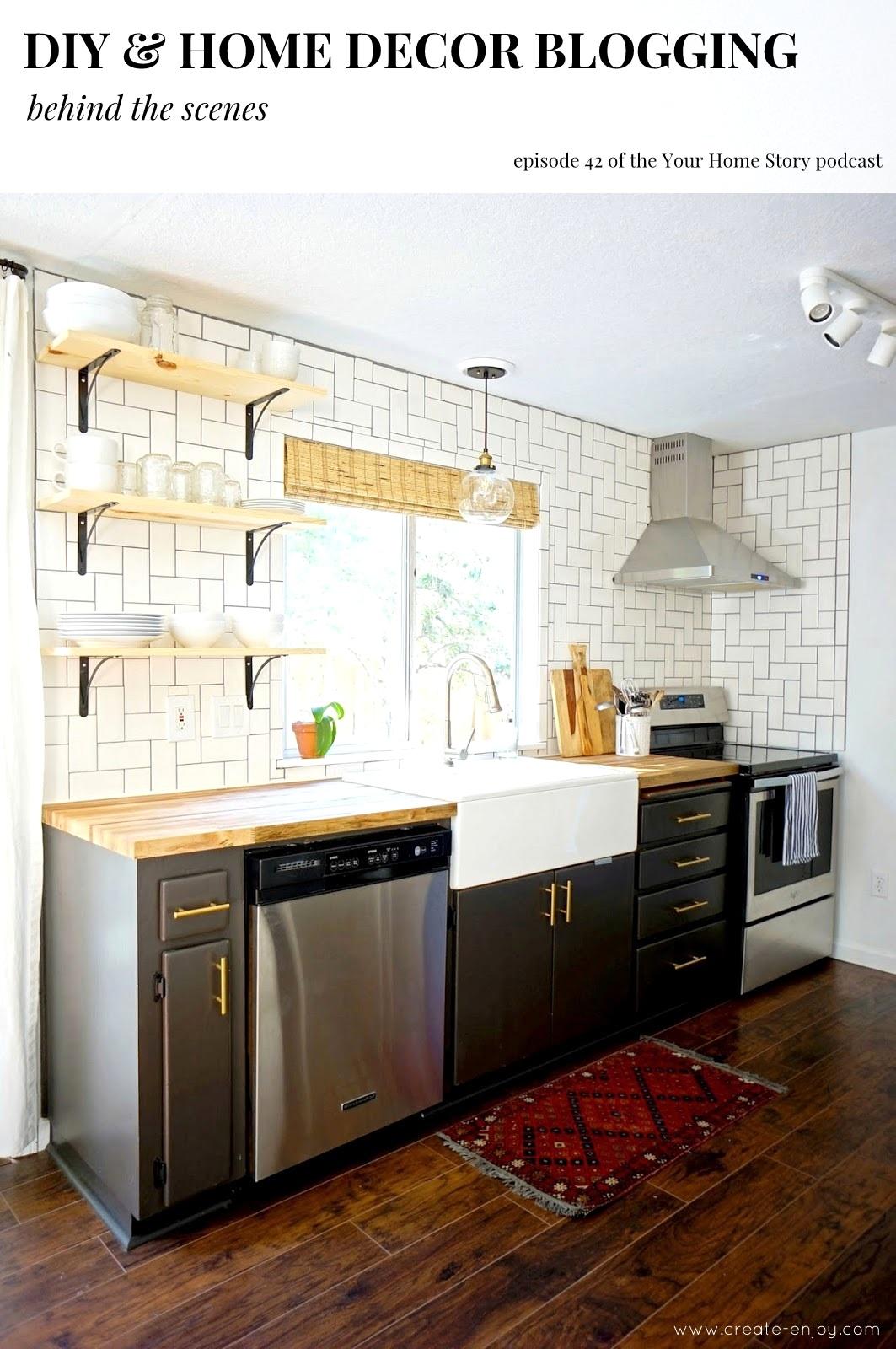 Diy Home Decor Blogging Behind The Scenes Create Enjoy