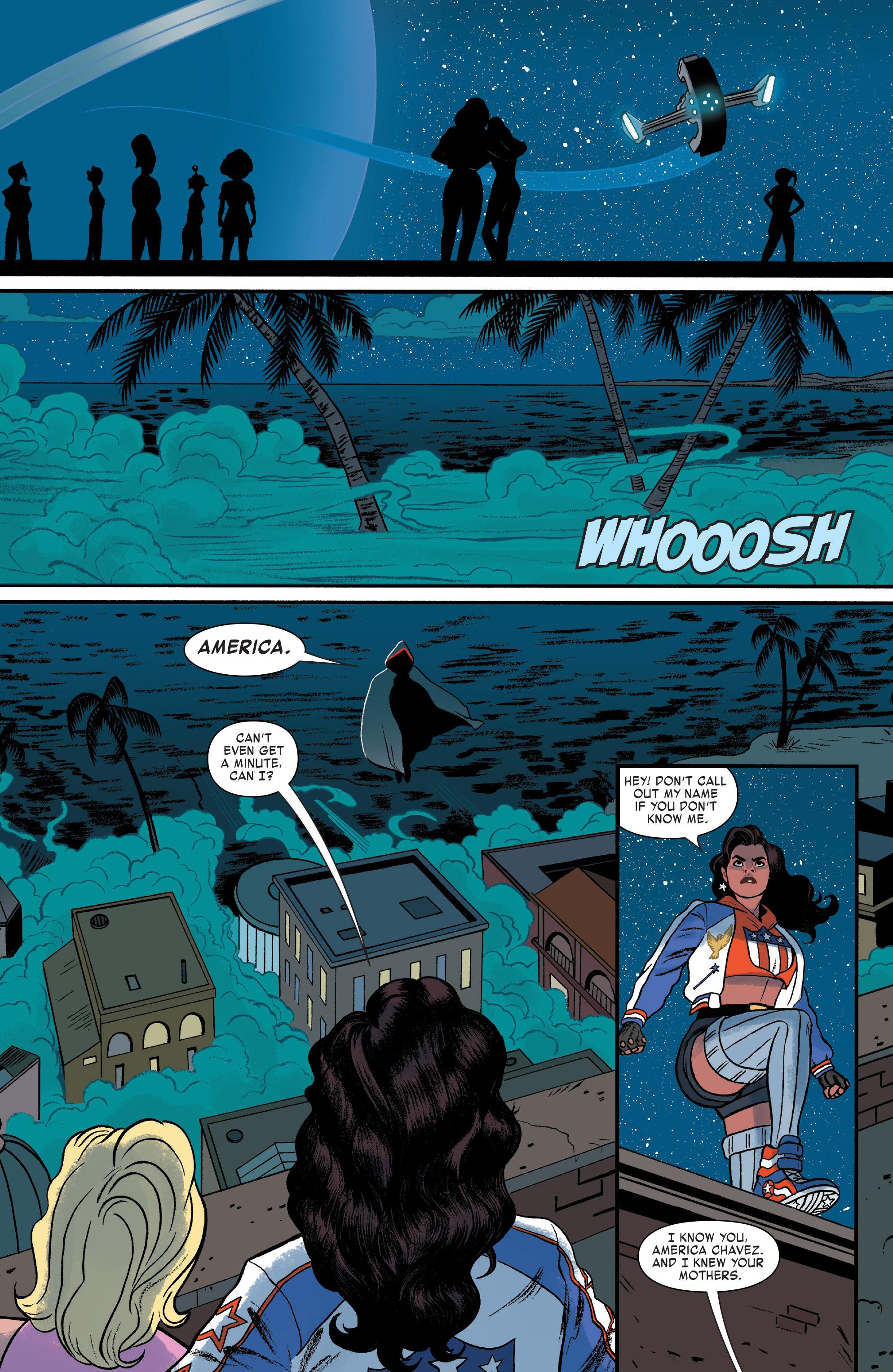 Read online America (2017) comic -  Issue #4 - 16