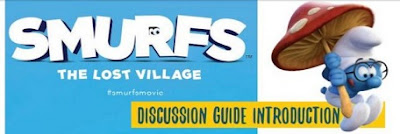 smurfs the lost village discussion guide