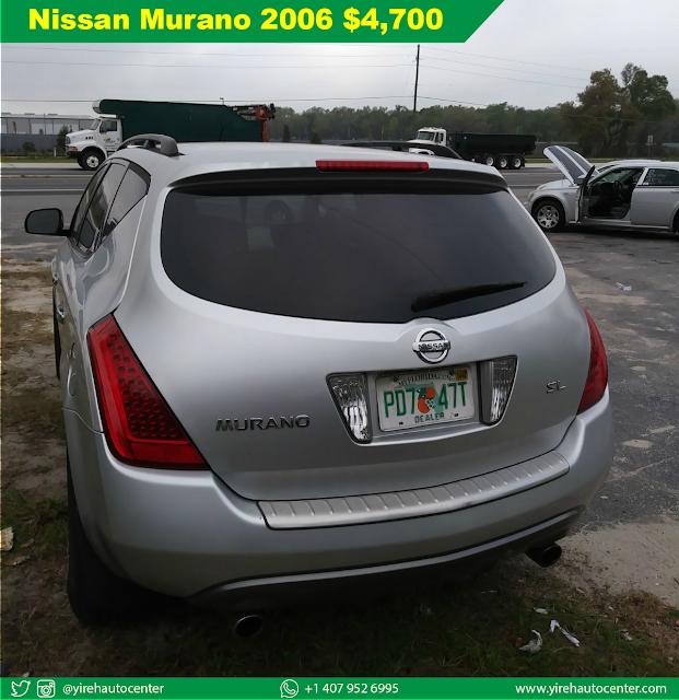 Nissan Murano 2006 Silver - Yireh Auto Center