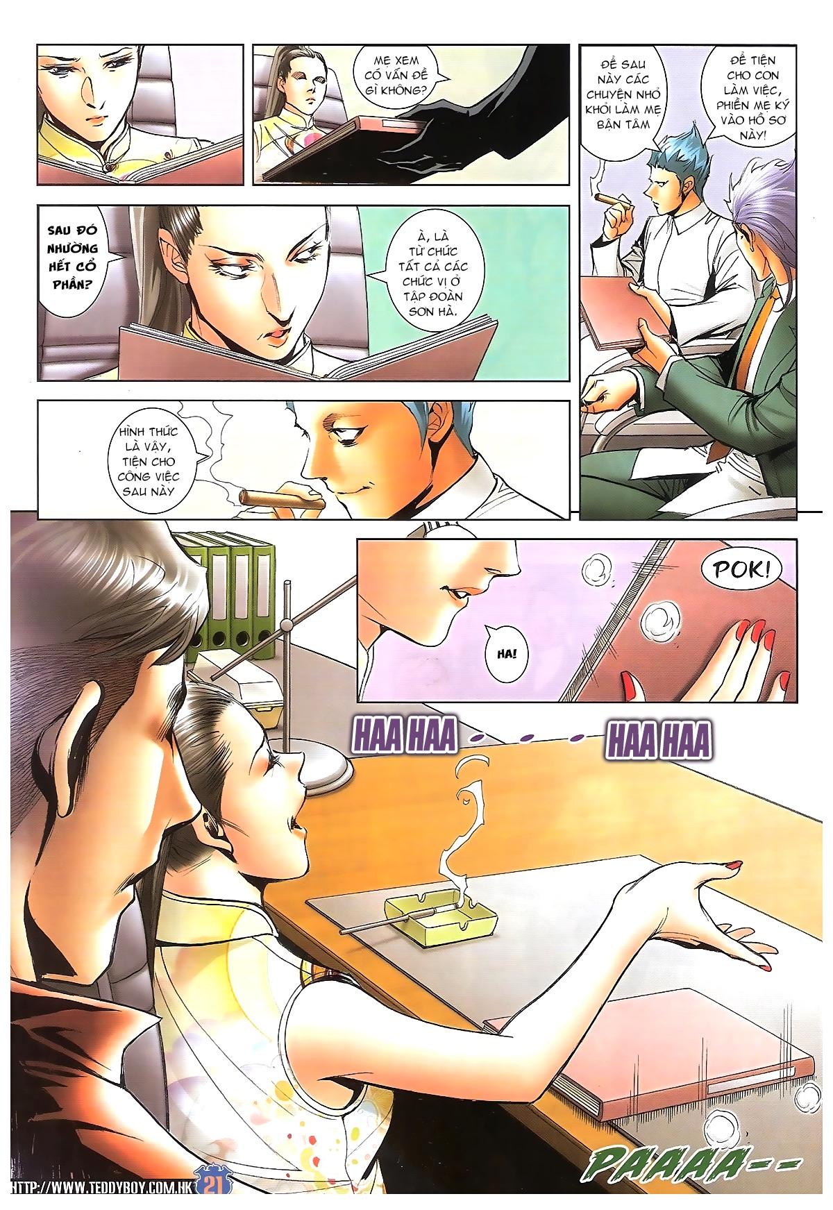 Người Trong Giang Hồ - Chapter 1617: Bức Cung - Pic 18