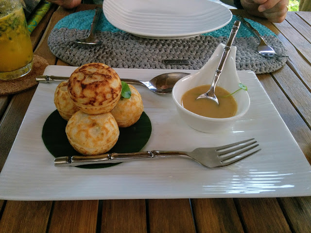 Cambodian dumplings at Spoons Cafe in Siem Reap Cambodia