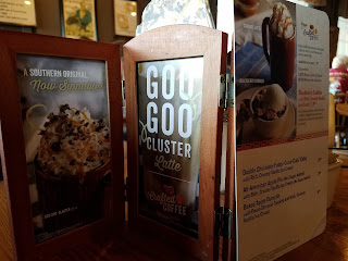 #atozchallenge x Cracker Barrel Goo Goo Cluster image