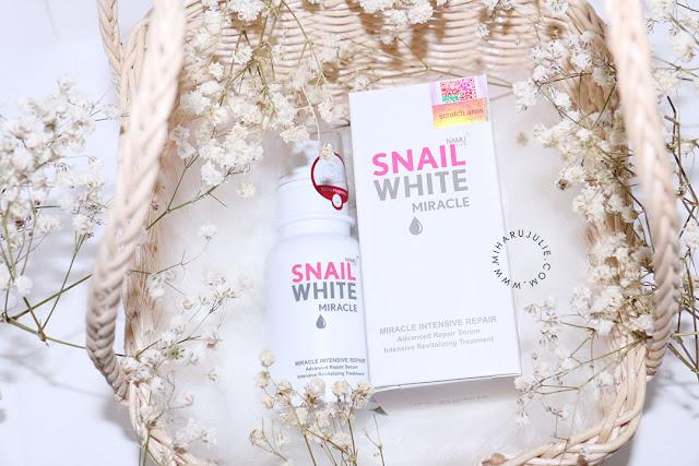 SNAIL WHITE Miracle Intensive Repair Serum