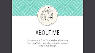 Dasar-dasar Desain Grafis contoh line tentang saya