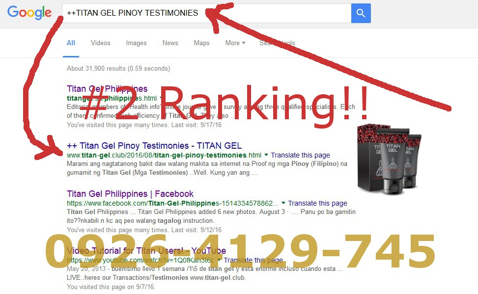 titan gel philippines best buyers testimonies and real