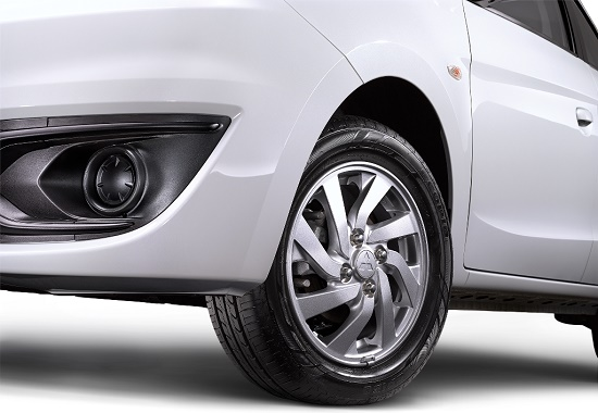 alloy wheel new mirage glx gls