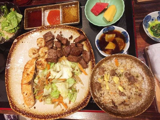 Ogawa Traditional Japanese Restaurant's Teppan Gozen