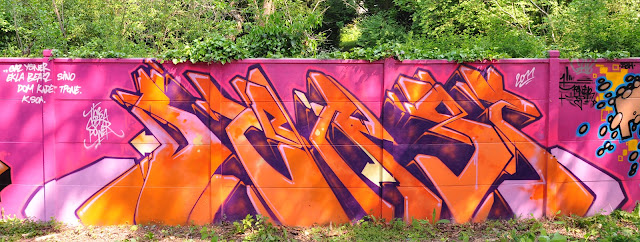 Peinture réalisée à Herblay 2011