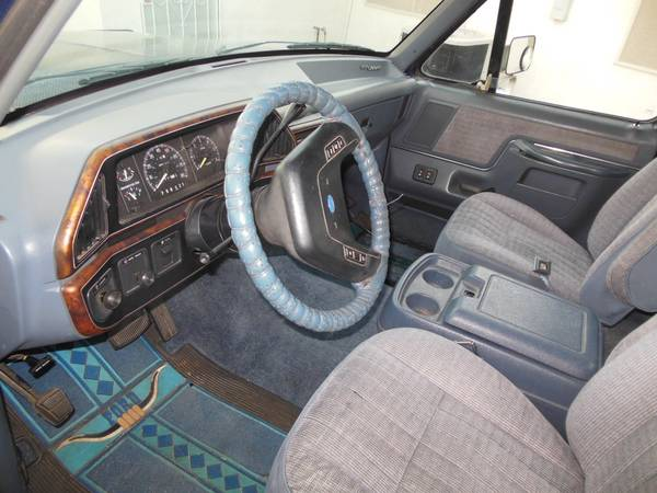 Used Ford F Truck Interior