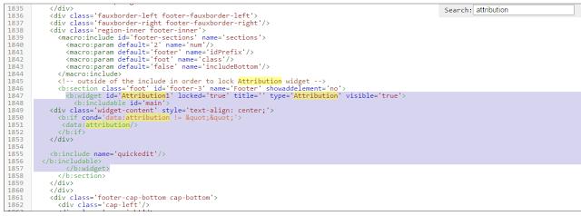 Cara Menghilangkan Attribution di Blog