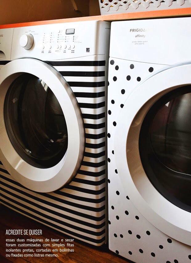 Decore também seus eletrodomésticos com fita isolante
