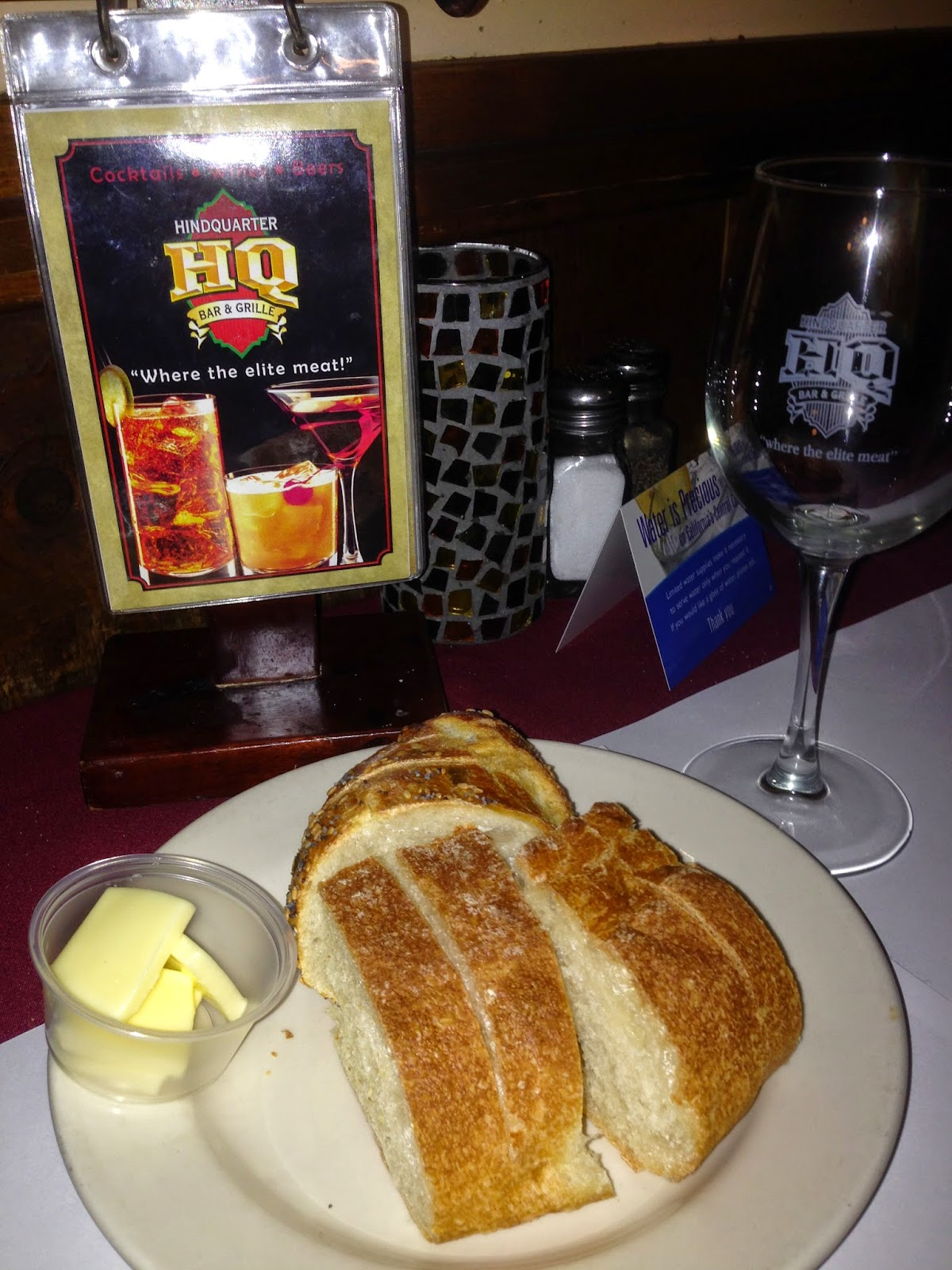 The Santa Cruz Food Blog: Hindquarter Bar & Grille
